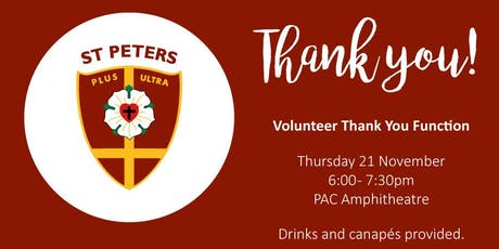 2019 Volunteer Thank You Function tickets