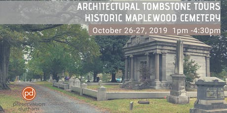 Architectural Tombstone Tours: Historic Maplewood Cemetery tickets
