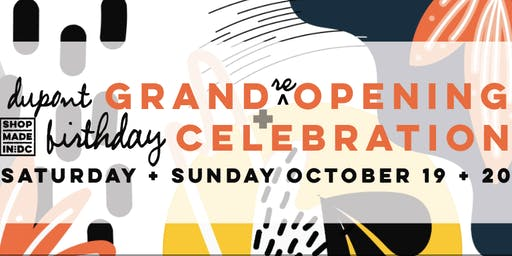 Grand (re) Opening + Dupont Birthday Party!