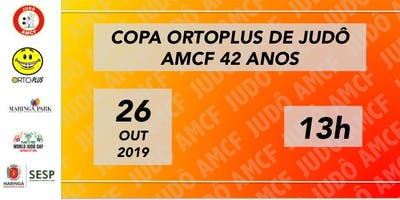 Copa Ortoplus de Judô || AMCF 42 anos