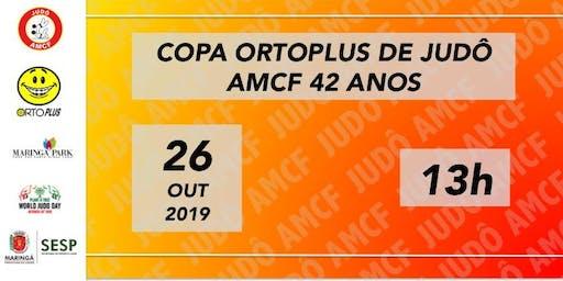Copa Ortoplus de Judô    AMCF 42 anos