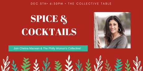 Spice and Cocktails tickets