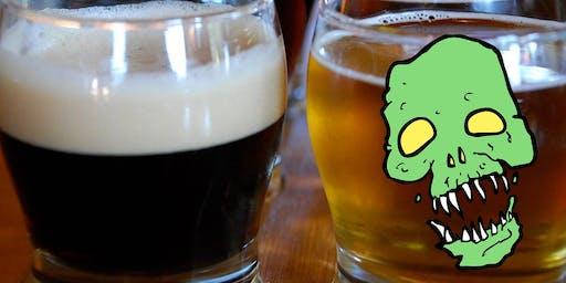 WKTV On Tap Bridge Street Zombie Hop Beer Tour