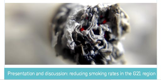 Presentation and discussion: reducing smoking rates in the G21 region
