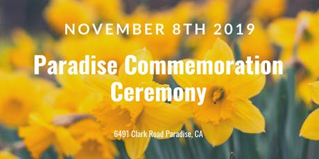 Paradise Commemoration Ceremony tickets