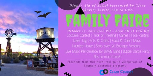 Family Faire | Halloween Fun Edition