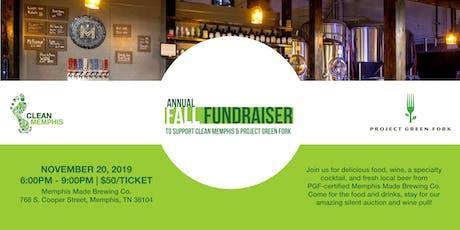 Clean Memphis Fall Fundraiser tickets
