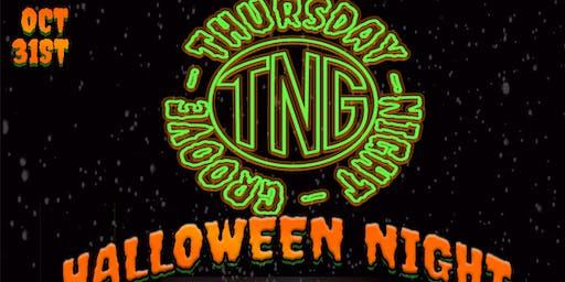 Thursday Night Groove- Halloween Night