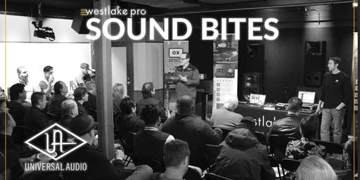 SOUND BITES: The latest from Universal Audio