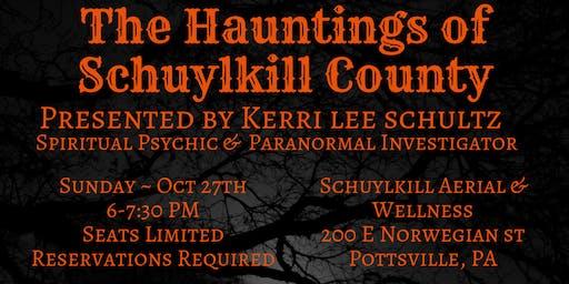 Hauntings of Schuylkill County Talk