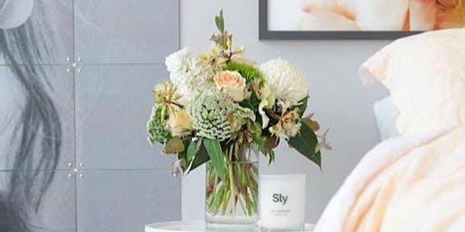Botanical Style Vase Arrangement Workshop