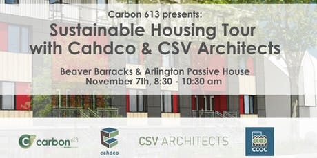 Sustainable Housing Tour with Cahdco & CSV Architects tickets