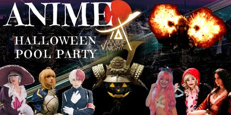 """Anime x Halloween"" Pool Party tickets"