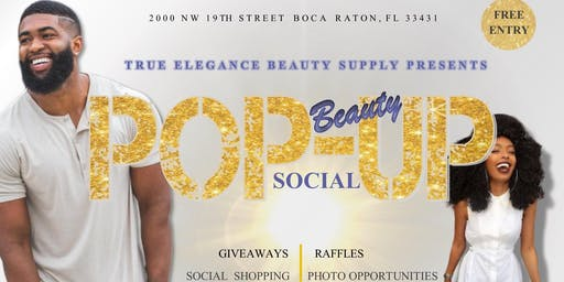 True Elegance Beauty Supply Store Presents: A Beauty Pop-Up Social Event