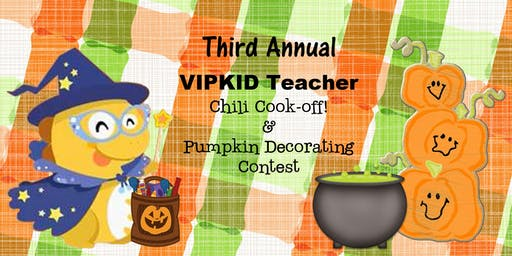 VIPKID teacher Annual Chili cook-off! hosted by Heather S. & Becky W.