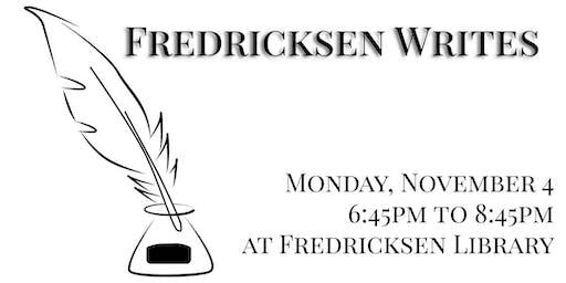 Fredricksen Writes