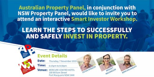 Port Macquarie | Learn the Steps to Successfully and Safely Invest in Property