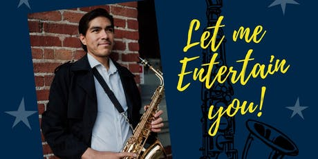 Fernando RJ (Let Me Entertain You)with a latin spice tickets