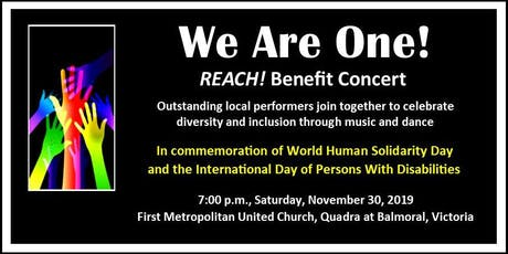 We Are One! tickets