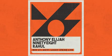 ANTHONY CUNNINS-CONEDY at Lucky Strike Live tickets