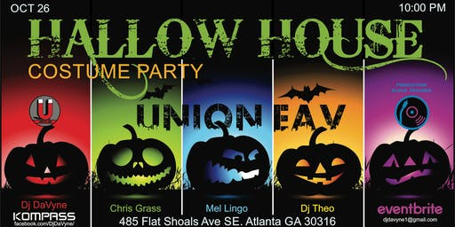 Hallow House Halloween Costume Party