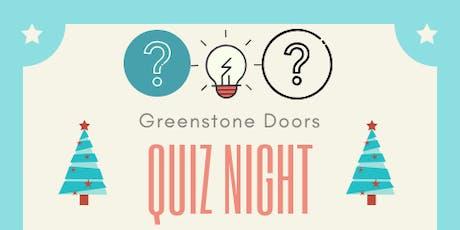 Greenstone Doors Quiz Night tickets