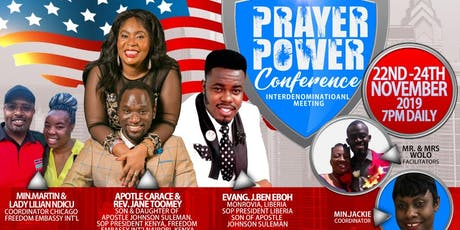 PRAYER  POWER CONFERENCE  2019 tickets