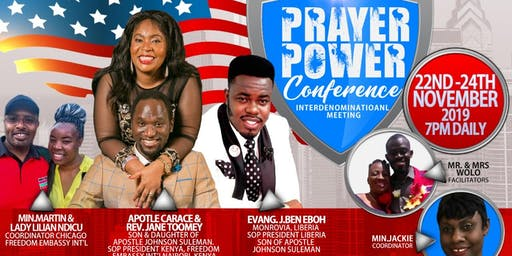 PRAYER  POWER CONFERENCE  2019