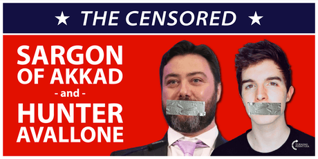 The Censored with Sargon of Akkad & Hunter Avallone tickets
