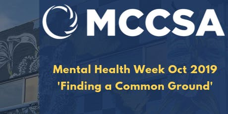 MCCSA Men's Mental Health Talk tickets