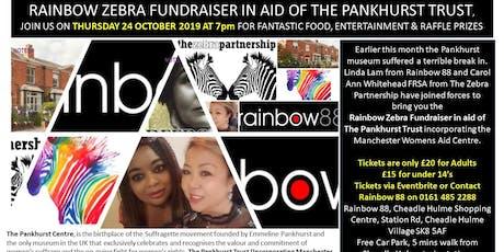 Rainbow Zebra Fundraiser for the Pankhurst Centre tickets