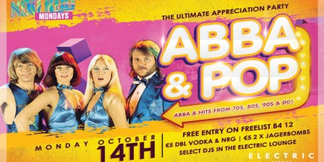 KOO KOO Mondays - ABBA appreciation party tickets