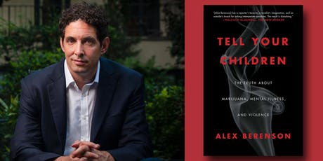 CANCELLED: Alex Berenson - Tell Your Children tickets