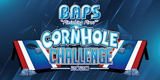 BAPS Driver Cornhole Challenge at Racing Xtravaganza 2020