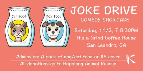 Joke Drive Comedy Showcase! tickets