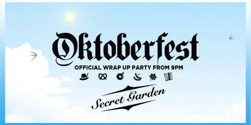 Oktoberfest St Kilda 2019 - Secret Garden Wrap Up (Very Limited Tickets)