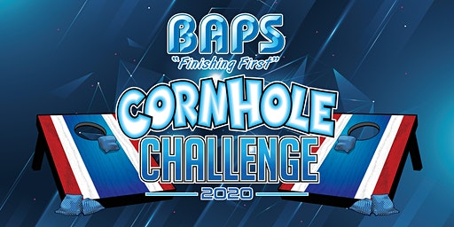 BAPS Fan Cornhole Challenge at Racing Xtravaganza 2020