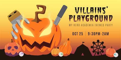 Villains' Playground: A My Hero Academia Party