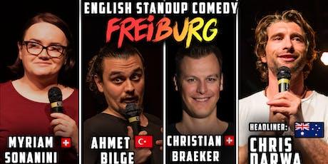 English Standup Comedy Night Freiburg  tickets