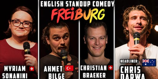 English Standup Comedy Night Freiburg