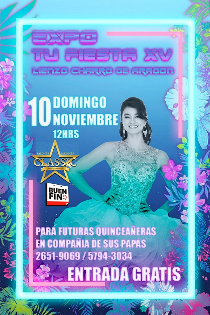 Imagen de Expo Tu Fiesta XV