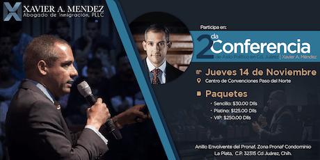 2da Conferencia de Asilo Político por Xavier A. Méndez entradas