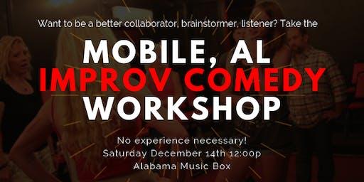 Improv Comedy Workshop for Beginners - Mobile, AL