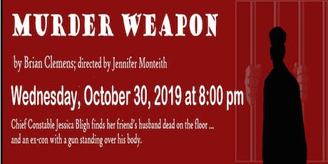 Murder Weapon, Village Players, to benefit Swansea Area Ratepayers tickets
