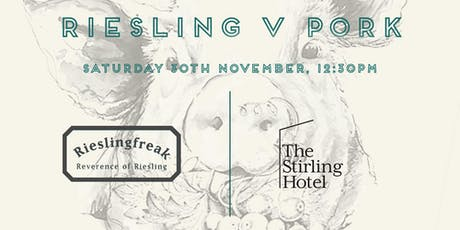 Stirling Hotel Riesling v Pork Luncheon tickets