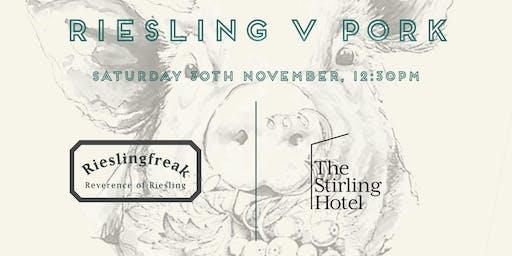 Stirling Hotel Riesling v Pork Luncheon