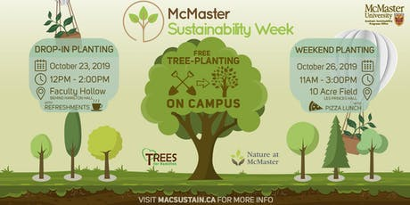 Sustainability Week Tree Planting tickets