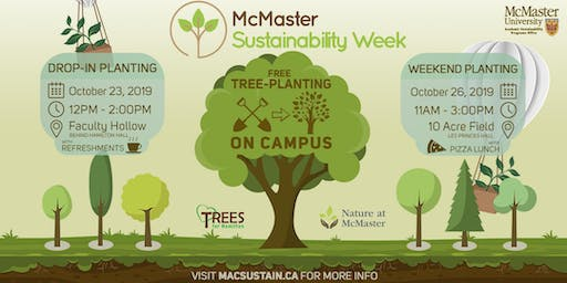 Sustainability Week Tree Planting