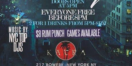 Afterwork Thursdays at Katra NYC tickets