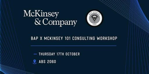 McKinsey Consulting Workshop